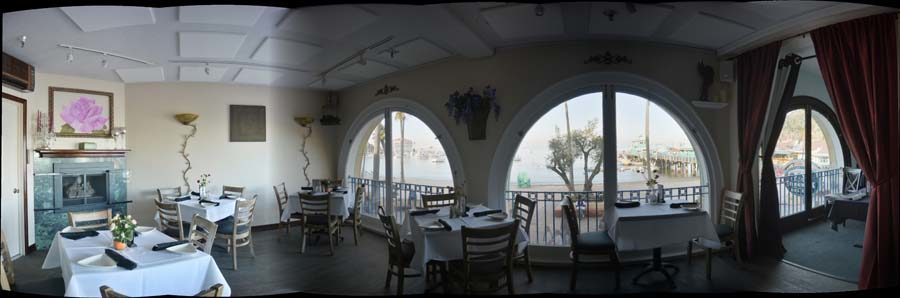 The Rose room at Steves Steakhouse and Seafood Catalina Island Restaurant